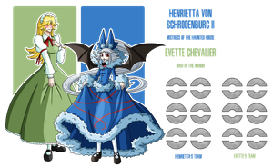 Fakemon: Haunted House Mistresses by MTC-Studio