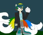 Jackson The Four Tailed Wolf ...::Old OC!::... by LockYourHeart