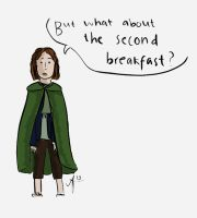 what about the second breakfast? by nitarar