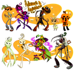 ~Pumpkin Adoptables~ (CLOSED) by Shainbow