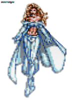 White Queen Bead Sprite by DrOctoroc