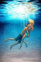 Underwater Kiss by LauraHollingsworth