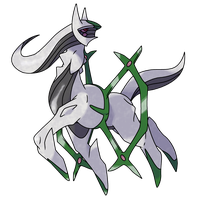 Arceus (Insect Plate) by CherubimonX