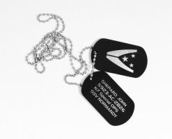 John Separd's dog tags by Katlinegrey