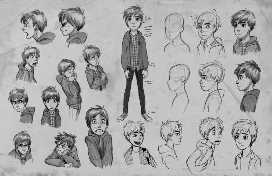 Jay exploration sketches by Detkef