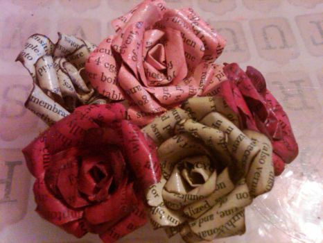 Paper Roses by cultchylde