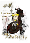 I am not a princess! by Emme-Gray