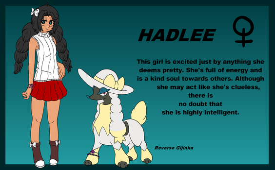Trainer Hadlee Reference by RandomPieXx