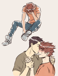 Ushioi week: First time and Future by sequshi