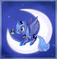 Princess Luna by chibitracydoodles