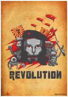 robo-revolution by grazrootz