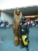 Hunk and Chewbacca by W4RH0US3
