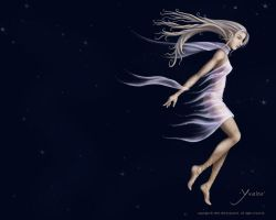 Yvaine - wallpaper by disenchanted