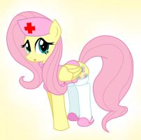 Fluttershy Nurse by Pyruvate