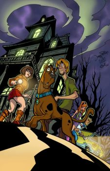 Scooby Doo by Ronron84