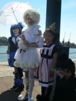 Chibi Kuros group shot MCM May '12 by KaniKaniza
