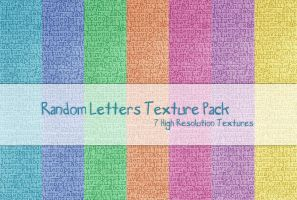 Random Letters Texture Pack by powerpuffjazz