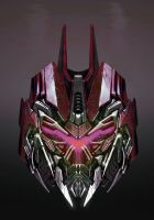 Fan made Onslaught head art by BDixonarts
