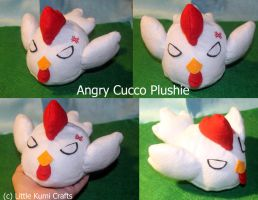 Cucco Plushie From LoZ by lkcrafts
