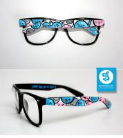 music faces glasses by Bobsmade