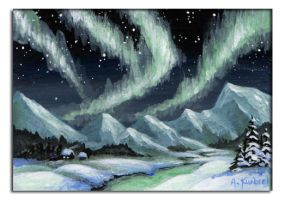 Northern Lights by Alina-Kurbiel
