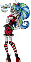Gobstopper Ghoulia- Sweet Screams CONCEPT by Misskitkatmadness
