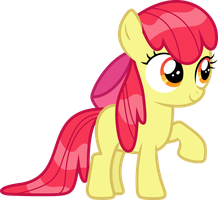 Wet Mane Applebloom by Kishmond
