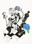 BlackButler: Chess2 +White Queen and Black King+ by TiiteMiissdu69