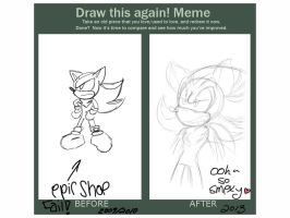 Shadow the Hedgehog-Improvement Sheet by ElectricLoba