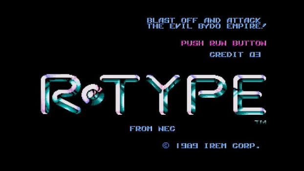 R-Type for Turbografx-16 by ComannderrX