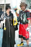 Sora and Xion by R-Legend