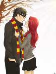 It's cold outside. by ErDexie