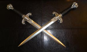 Replica Kahlan Seeker Daggers by ThePrincessNightmare