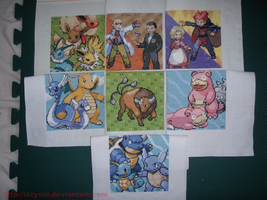All my Pokemon Patches by IzzyXIII