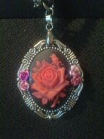 rose necklace 2 by WyckedDreamsDesigns