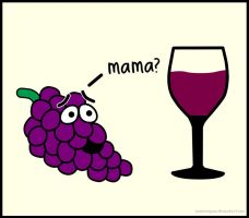 Mama? Grapes by ewensimpson