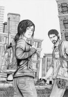 The Last Of Us Draw  - Second Version by VictorYMarques