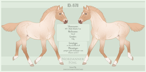 8711 Nordanner Foal by SWC-arpg