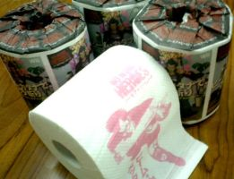 No More Heroes toilet paper by CharlieMcD25