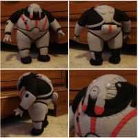 Custom plush - Niftu Cal, Mass Effect by silentorchid