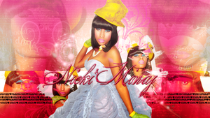 Wallpaper Nicki Minaj by BlackJesusGermanotta