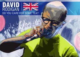 David Rodigan Poster by aMorle by aMorle