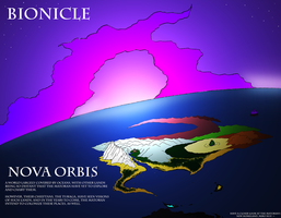 Bionicle- Nova Orbis- Planet Overview by NickinAmerica