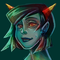 Terezi Pyrope by Biology-of-Pencils