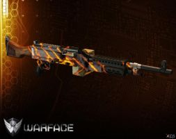 M240B CROWN [ WARFACE ] by Goreface13