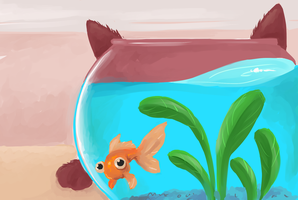 fish bowl by cording44