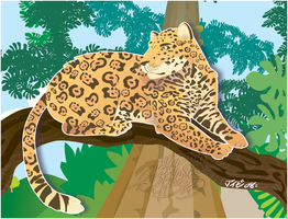 :: Jaguar Vector :: by IvyBeth