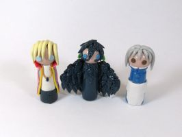 Wobbles: Howl's Moving Castle Group by okapirose