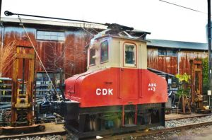 The smallest electric locomotive in Japan by TFuruhashii