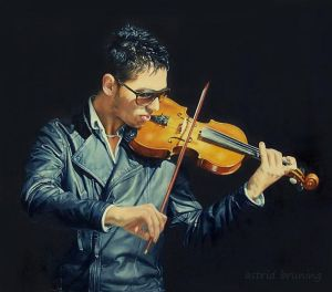 Serenade - OIL PAINTING by AstridBruning